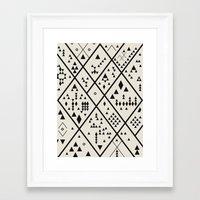 Desert Quest Framed Art Print
