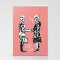TROUBLE SHAKE Stationery Cards