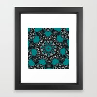 Impossible star Framed Art Print