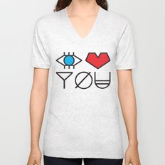 EYE HEART YOU Unisex V-Neck