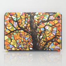 Stained Glass Tree #2 iPad Case