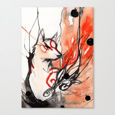 Okami Canvas Print