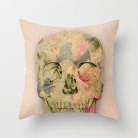 skull1 Throw Pillow