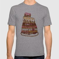 Pat A Cake Mens Fitted Tee Athletic Grey SMALL
