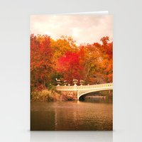 New York City Autumn Mag… Stationery Cards