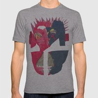 BamBamMenace Mens Fitted Tee Athletic Grey SMALL