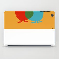Hello Old Chum | Illustration of Friendship iPad Case