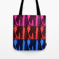 Alien Surf Fiend Tote Bag