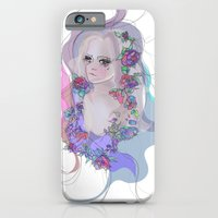 iPhone & iPod Case featuring Cosmic Lola by LisaStannard
