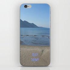 Beach Therapy iPhone & iPod Skin