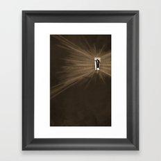 Hurry Framed Art Print