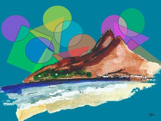 Leblon, Brazil Art Print