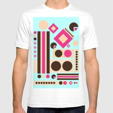 Neapolitan Ice Cream Mens Fitted Tee White SMALL