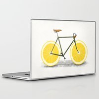 bicycle Laptop & iPad Skins featuring Zest by Florent Bodart / Speakerine