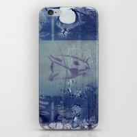 Here Kitty Kitty Polaroid Transfer iPhone & iPod Skin