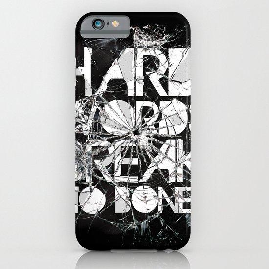 HARD WORDS iPhone & iPod Case