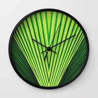 50 Shades Of Green (2) Wall Clock