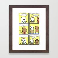 Antics #358 - Cone-con 2… Framed Art Print