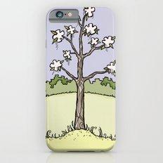 White Flower Tree Slim Case iPhone 6s