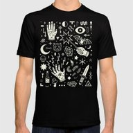 Witchcraft Mens Fitted Tee Black SMALL