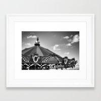 Carousel Memories Framed Art Print