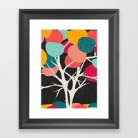 Lovely Tree Framed Art Print