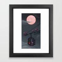 A Time to Rest Framed Art Print