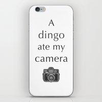 A Dingo Ate My Camera iPhone & iPod Skin
