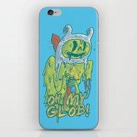 Zombie Finn iPhone & iPod Skin