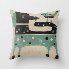 COUNTERSHADING Throw Pillow