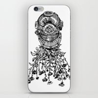 Daisy Diver iPhone & iPod Skin
