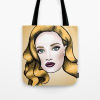 Blonde Beauty Tote Bag