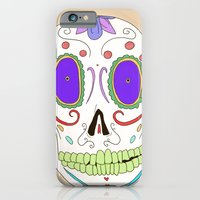 Candied Skull iPhone 6 Slim Case