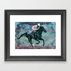 Sunday Silence Framed Art Print