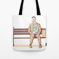 Bubble Gump Tote Bag