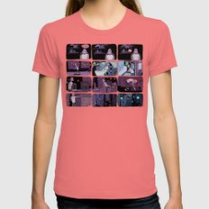 bad person Womens Fitted Tee Pomegranate SMALL