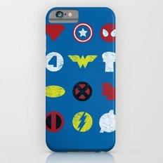 Super Simple Heroes iPhone 6 Slim Case