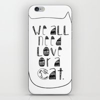 Le Chat. iPhone & iPod Skin