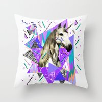 ACID WAVVES Throw Pillow