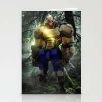 Mecha Series // Sagat Stationery Cards