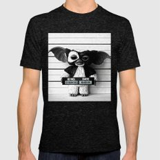 Gizmo Lineup Mens Fitted Tee Tri-Black SMALL