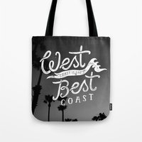 West Coast is the Best Coast Tote Bag