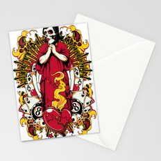 Pray for luck Stationery Cards
