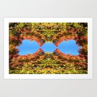 Maple Japan Abstract And… Art Print