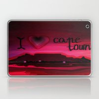 I love Cape Town  Laptop & iPad Skin