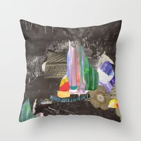 Cave Garden I Throw Pillow