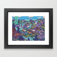 Try Not To Step On Anyth… Framed Art Print