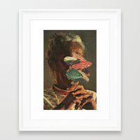 Body Horror Framed Art Print