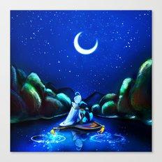Starry Night Aladdin Canvas Print