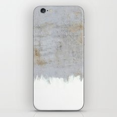 Painting on Raw Concrete iPhone & iPod Skin